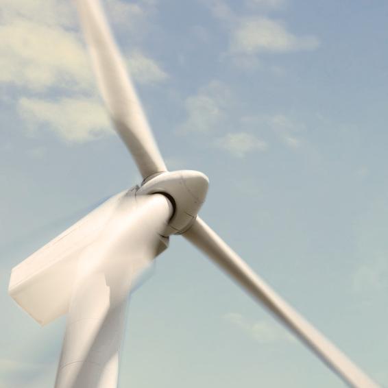 Bild eines Windrades; Quelle: Website von Berlin Energie; © Fotolia.com