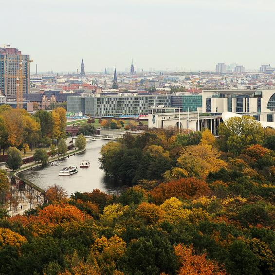 Bild vom Tiergarten in Berlin; Quelle: Website von Berlin Energie; © Fotolia.com