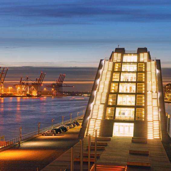 Bild von Hafen in Hamburg; Quelle: Website von Berlin Energie; © Fotolia.com